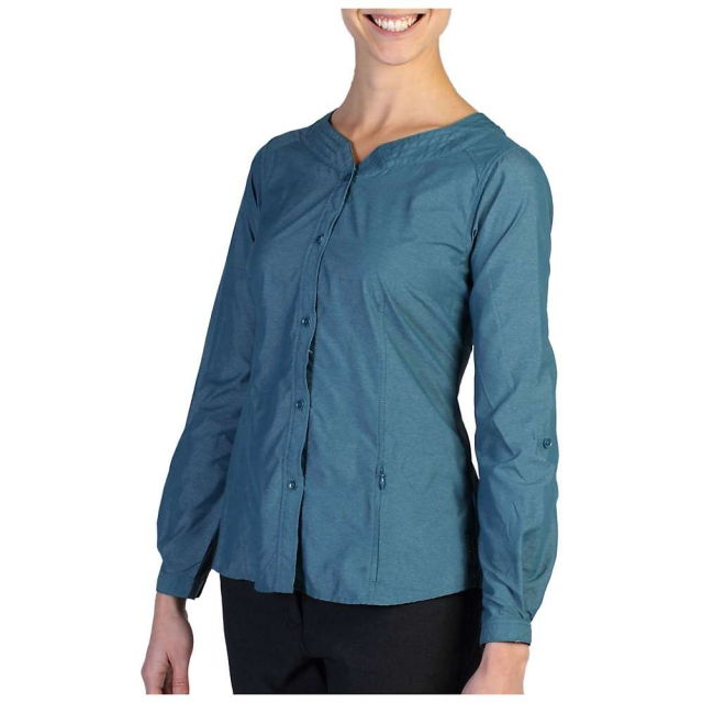 ExOfficio - Women's Dryflylite Blouse Long Sleeve Shirt