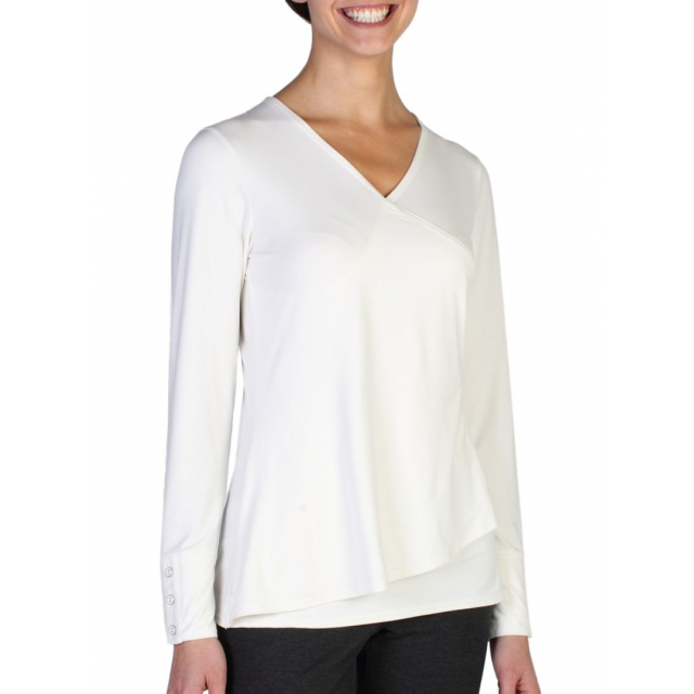 ExOfficio - Women's Wanderlux Crossfront Long-Sleeve