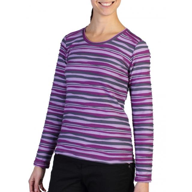ExOfficio - Women's Techspressa Stripe Long-Sleeve