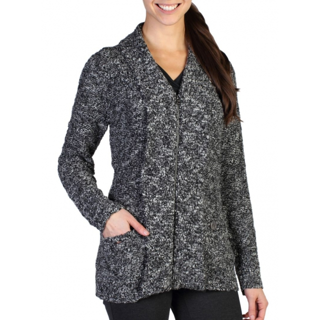 ExOfficio - Women's Icelandia Boucle Zip Cardigan