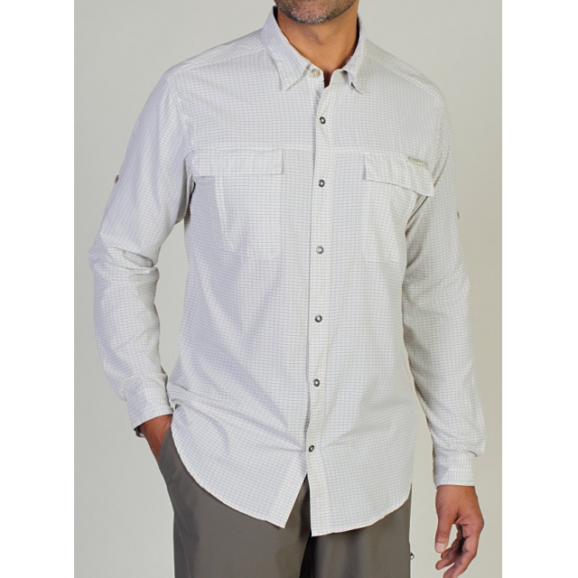 ExOfficio - Men's Bugsaway Halo Check Long-Sleeve