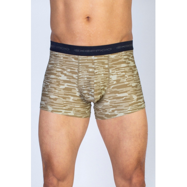 ExOfficio - Men's Give-N-Go Printed 3'' Boxer Brief