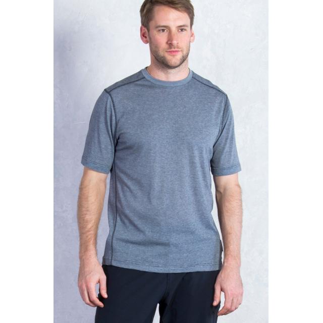 ExOfficio - Men's Sol Cool Jacquard Tee Short Sleeve Shirt