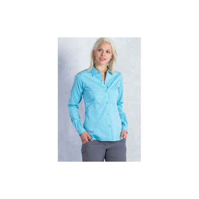 ExOfficio - Women's Lightscape Digi-Stripe Long Sleeve Shirt