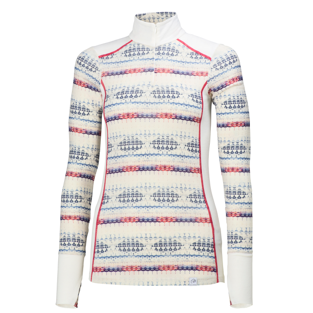 Helly Hansen - Womens HH Wool Graphic 1/2 Zip