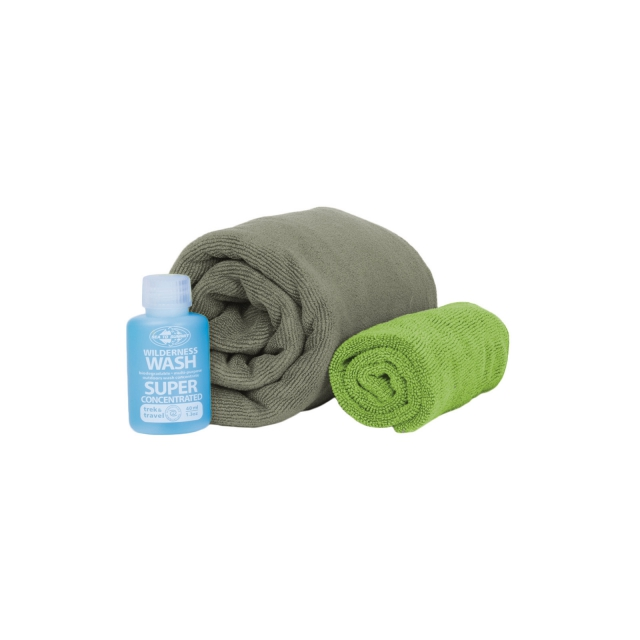 Sea to Summit - Tek Towel Wash Kit