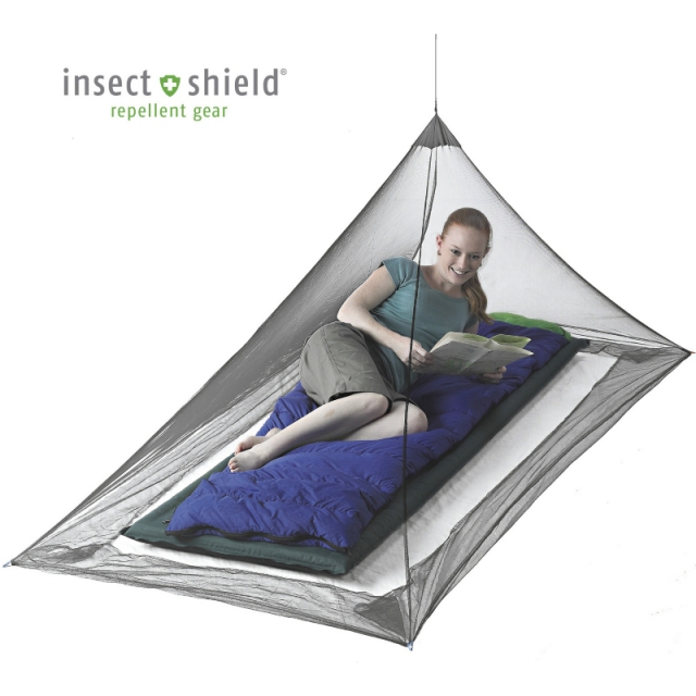 Sea to Summit - Nano Mosquito Pyramid Net - Single with Insect Shield