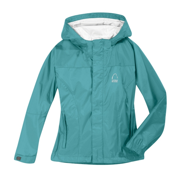 Sierra Designs - - Hurricane Jkt Girls - X-Small - Teal
