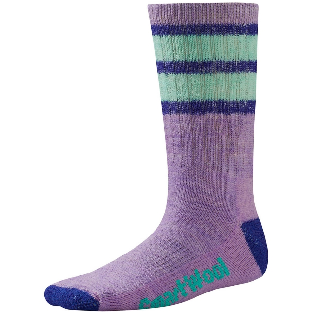 Smartwool - Kids' Striped Hike Medium Crew Socks