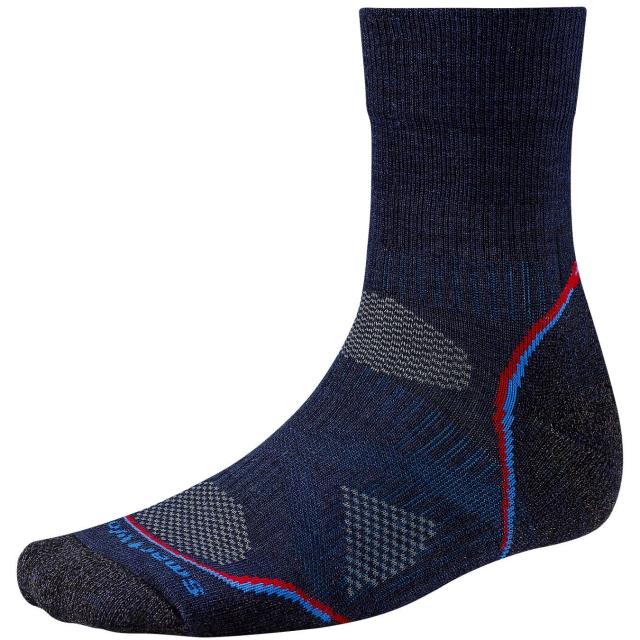 Smartwool - Men's PhD® Outdoor Light Mid Crew Socks
