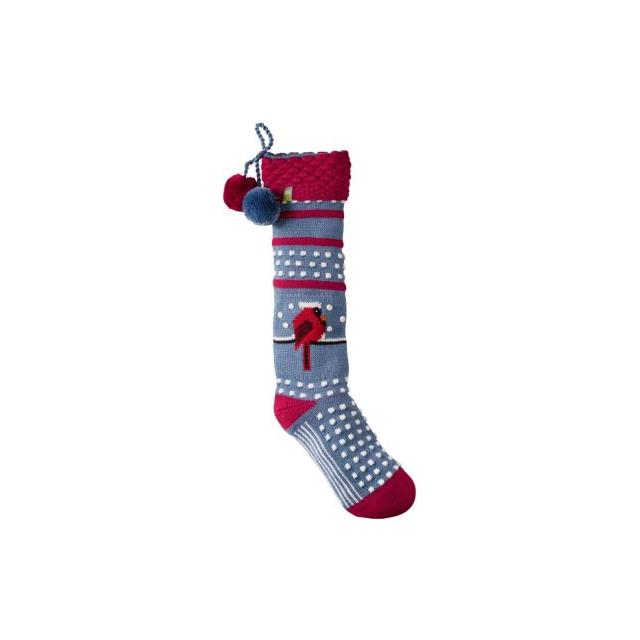 Smartwool - Charley Harper Cool Cardinal Stocking