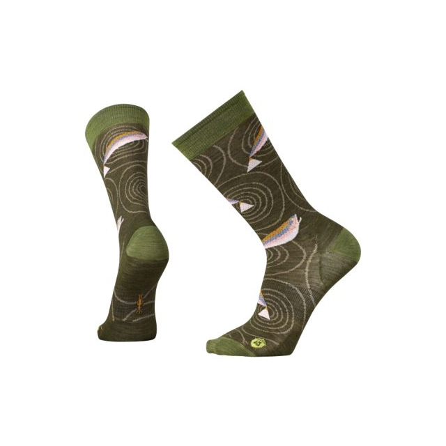 Smartwool - Men's Charley Harper Rocky Mountain Fish Crew