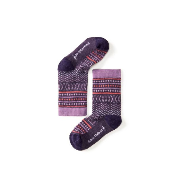 Smartwool - Girls' Diamond Flush Crew Socks