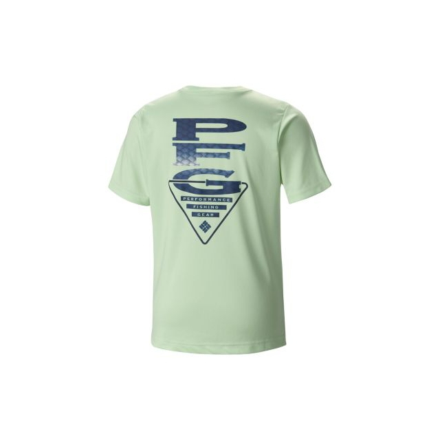 Columbia - Kid's B PFG Stacked Scales Graphic Tee