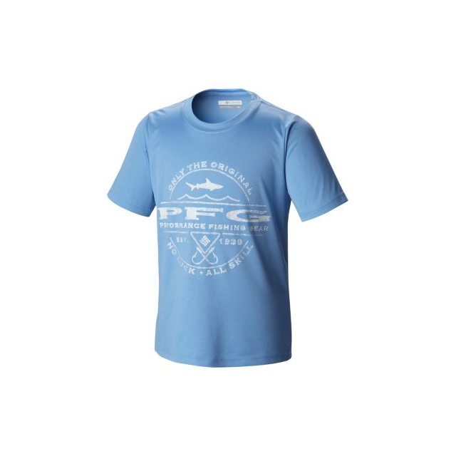 Columbia - Kid's PFG Sportsman Shark Graphic Tee