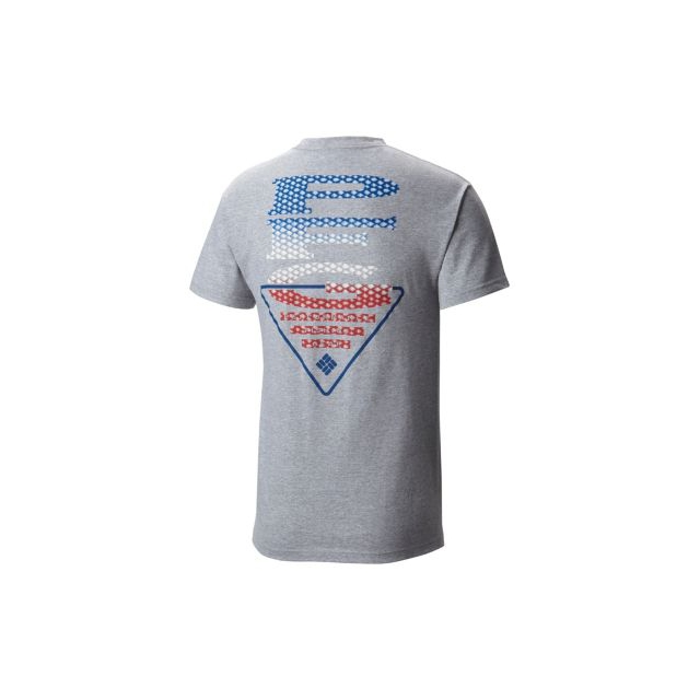 Columbia - Men's PFG Americana Scales Short Sleeve Tee
