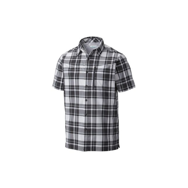 Columbia - Men's Silver Ridge Plaid Short Sleeve Shirt