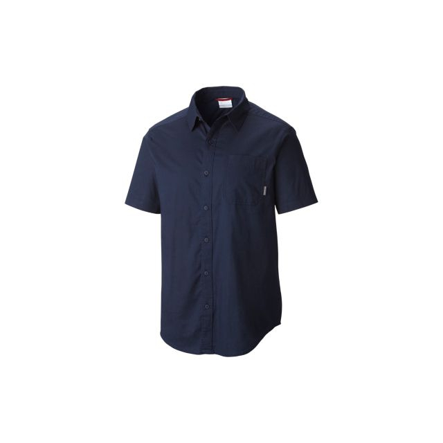 Columbia - Men's Thompson Hill Solid Short Sleeve Shirt
