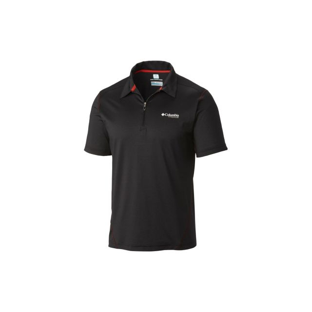 Columbia - Men's Titan Ice Mens Zip Polo