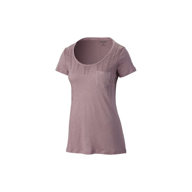 Columbia - Women's Lines Of A Feather Short Sleeve Tee