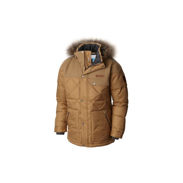Columbia - Men's Barlow Pass 550 Turbodown Quilted Jacket