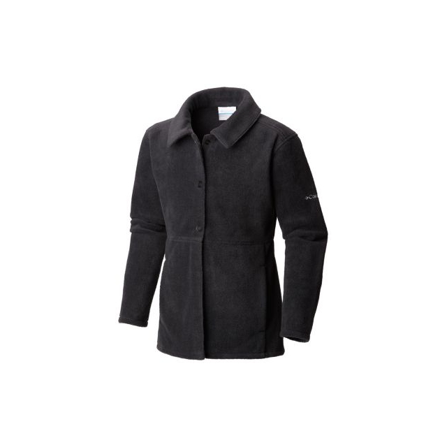 Columbia - Girl's Benton Springs Button Up Fleece Coat