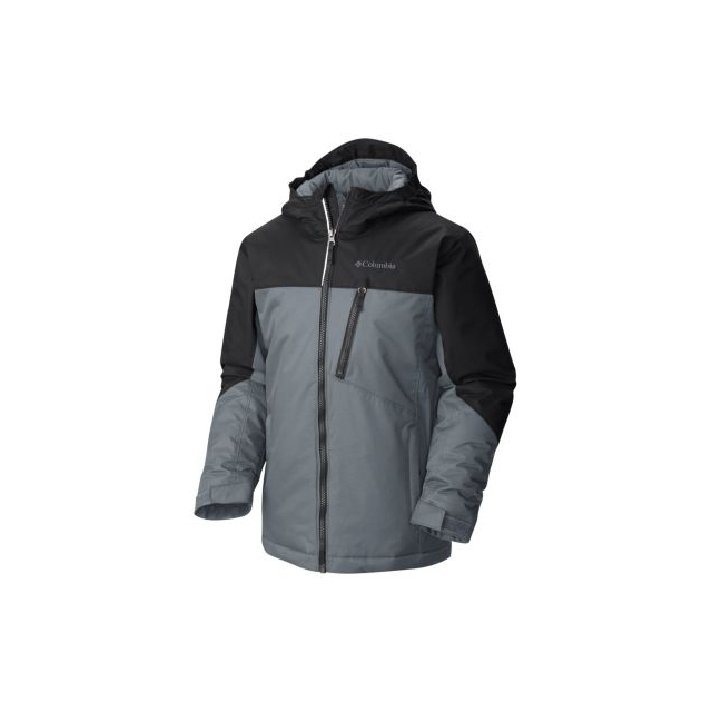 Columbia - Boy's Double Grab Insulated Hooded Jacket