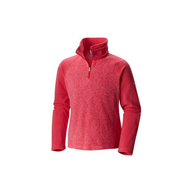 Columbia - Girl's Glacial II Fleece Print Half Zip