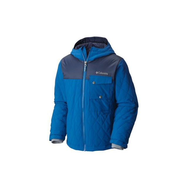 Columbia - Boy's Lookout Cabin Insulated Hooded Jacket