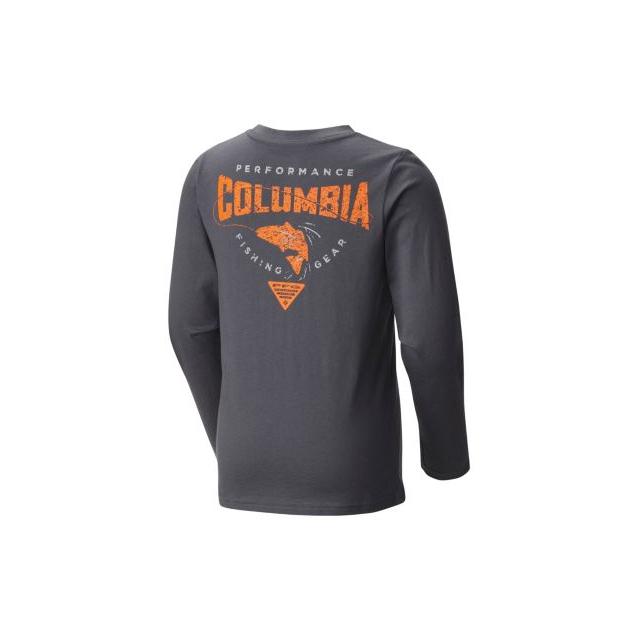 Columbia - Boy's PFG Fish N' Hook Long Sleeve Shirt