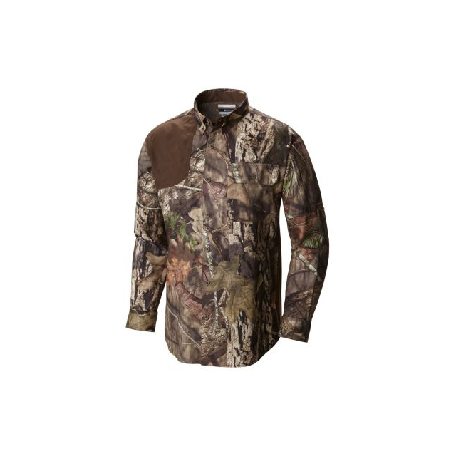 Columbia - Men's Stealth Shot III Blood N' Guts Long Sleeve Woven Shirt