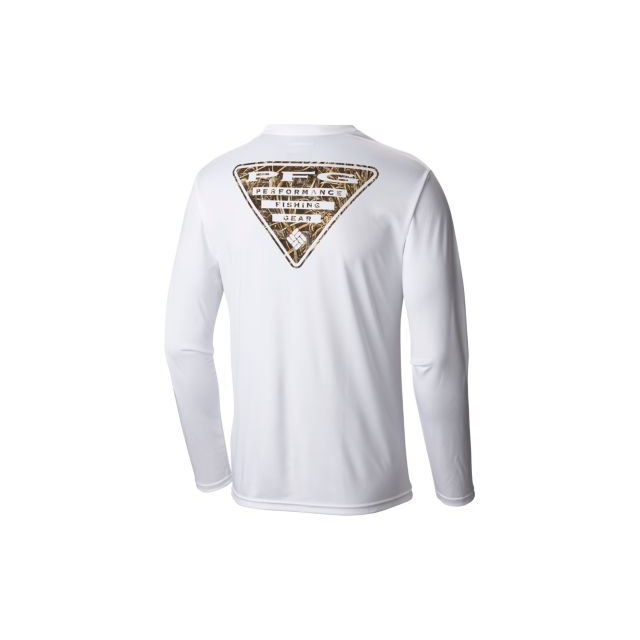 Columbia - Terminal Pfg Triangle II Camo LS Shirt
