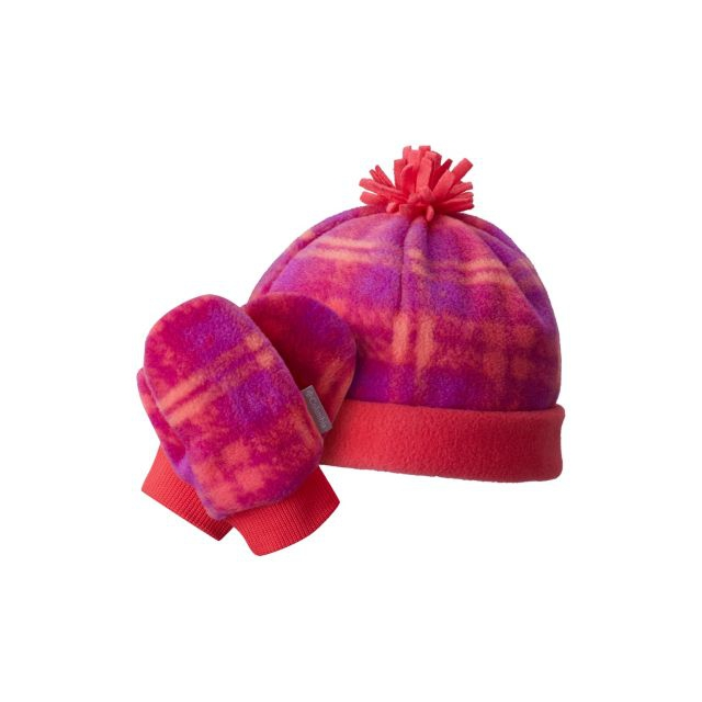 Columbia - Toddler Frosty Fleece Hat & Mitten Set