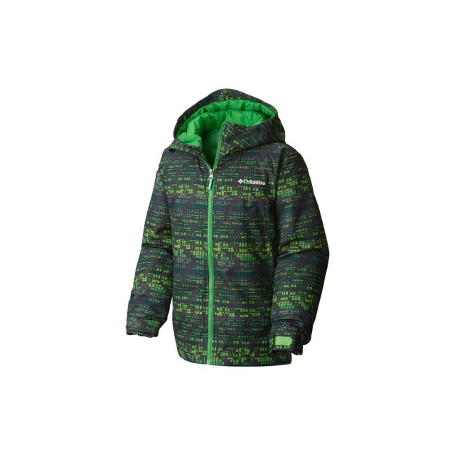 Columbia - Boy's Wrecktangle Insulated Hooded Jacket