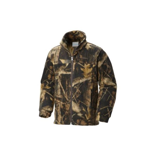 Columbia - Boy's Zing III Printed Fleece Jacket