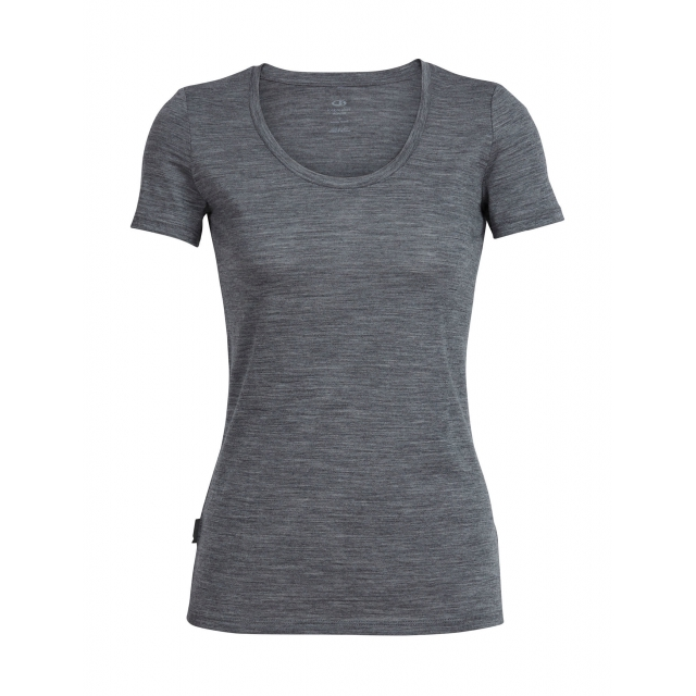 Icebreaker - Womens Tech Lite Short Sleeve Scoop