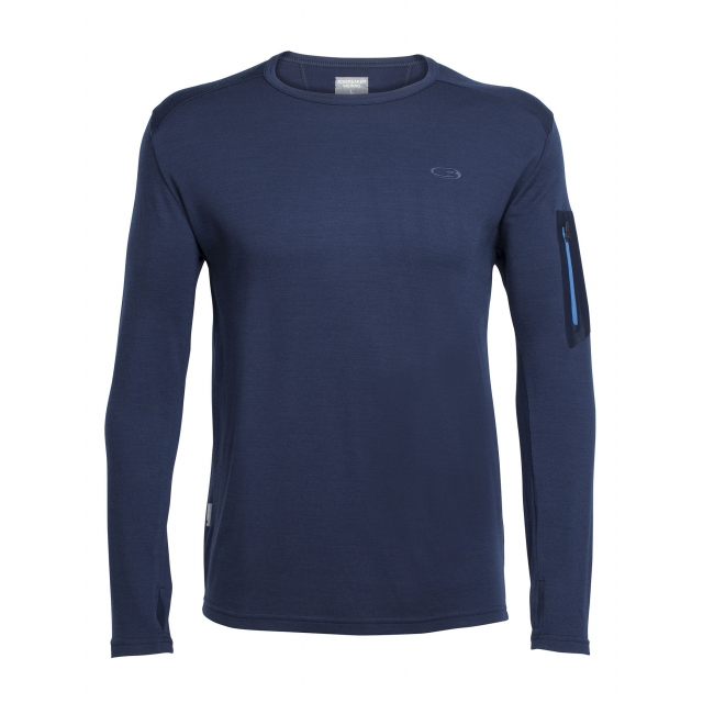 Icebreaker - Men's Apex LS Crewe