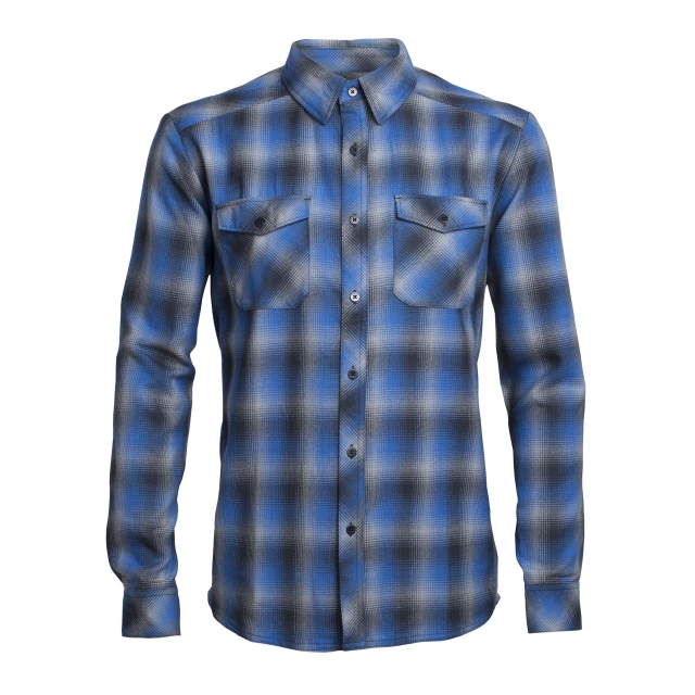 Icebreaker - Men's Lodge LS Flannel Shirt