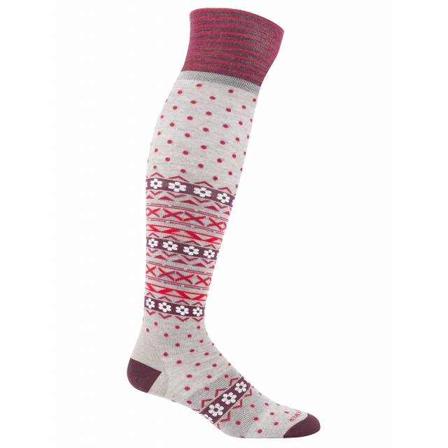 Icebreaker - Women's LifeStyle Fine Gauge Ultra Light Over the Knee Dotty