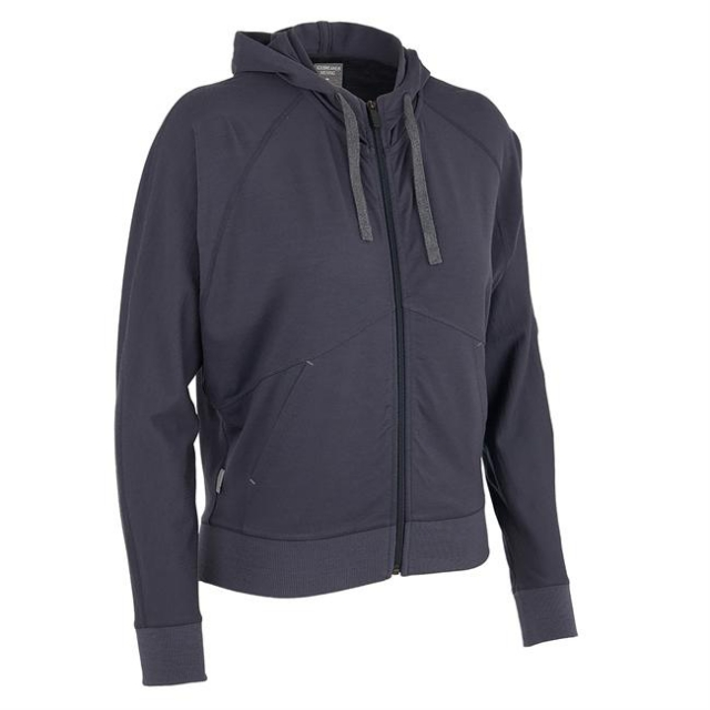 Icebreaker - Women's Sublime LS Zip Hood