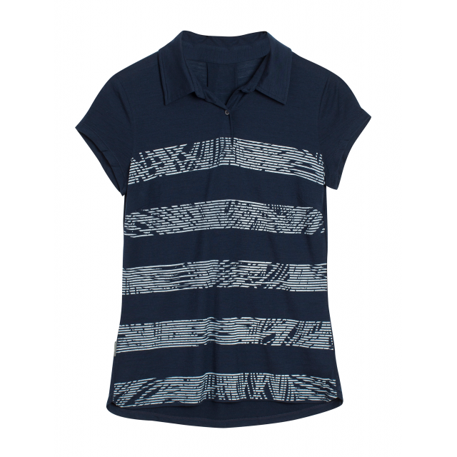 Icebreaker - Women's Sphere SS Polo Palm Slice