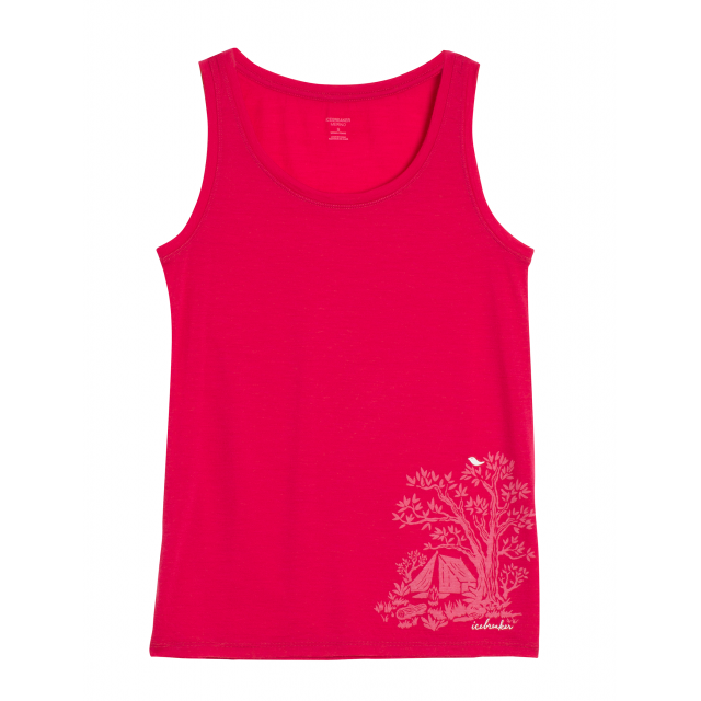 Icebreaker - Women's Tech Lite Tank Gone Bush