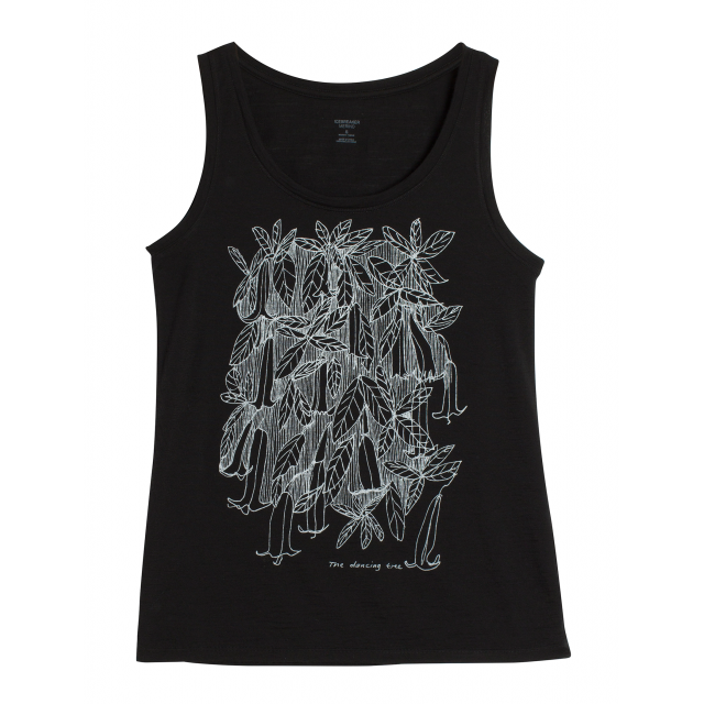 Icebreaker - Women's Tech Lite Tank Dancing Tree