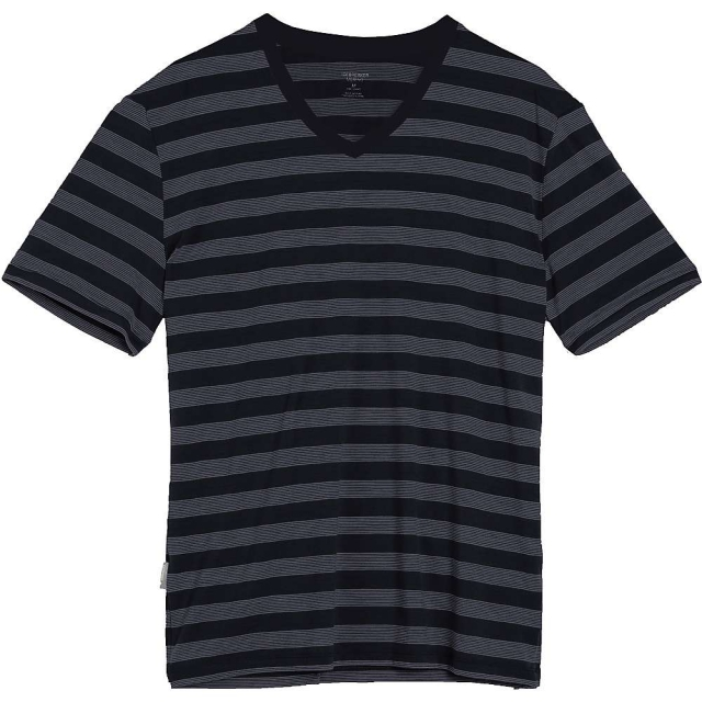 Icebreaker - Men's Tech Lite SS V Stripe