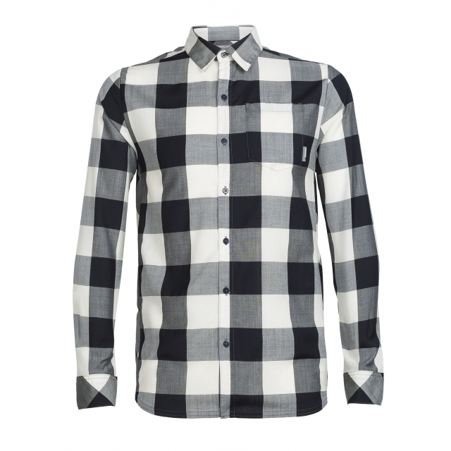 Icebreaker - Men's Departure II LS Shirt Plaid