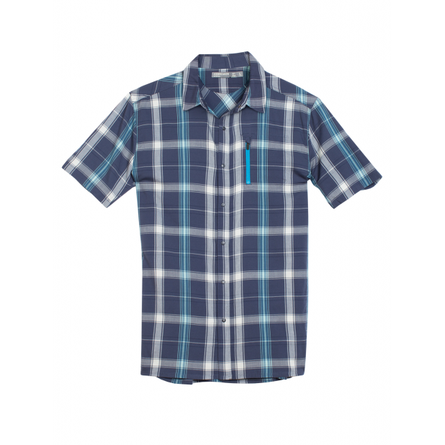 Icebreaker - Men's Compass II SS Shirt Plaid