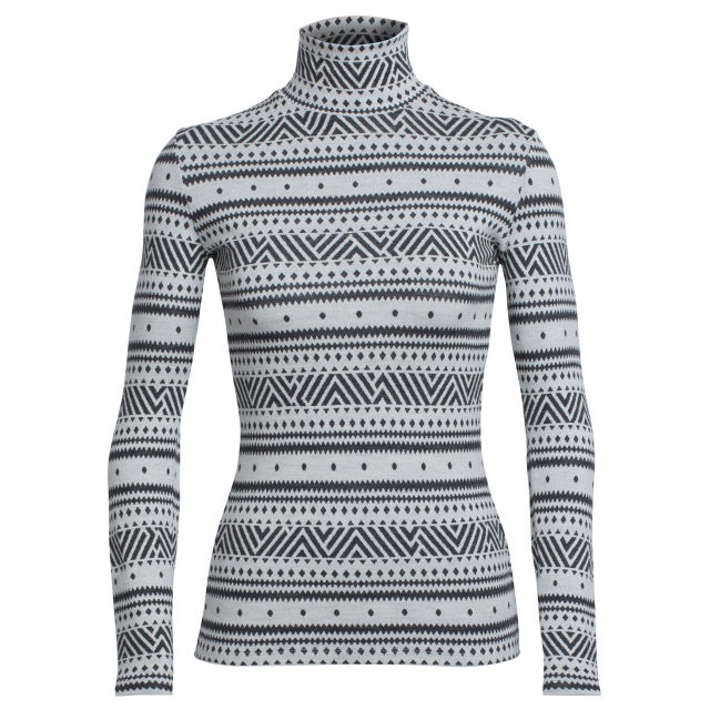 Icebreaker - Women's Vertex LS Turtleneck Icon Fairisle