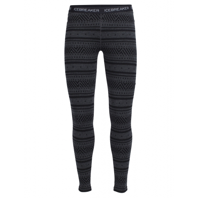 Icebreaker - Women's Vertex Leggings Icon Fairisle