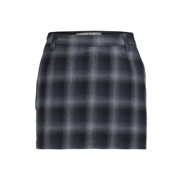 Icebreaker - Women's Lodge Skirt Plaid
