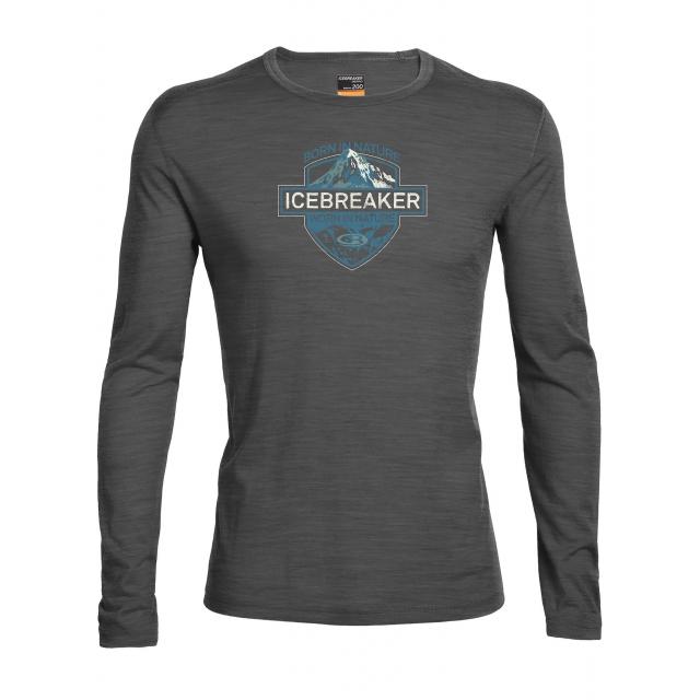 Icebreaker - Men's Oasis LS Crewe Alpine Crest